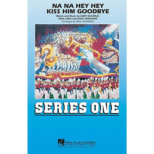 Hal Leonard Na Na Hey Hey Kiss Him Goodbye - Marching Band Marching Band Level 2 Arranged by Paul Jennings-thumbnail
