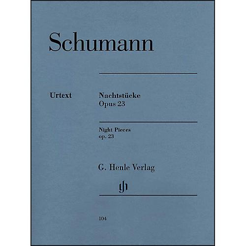 G. Henle Verlag Nachtstücke, Op. 23 (Night Pieces) By Schumann