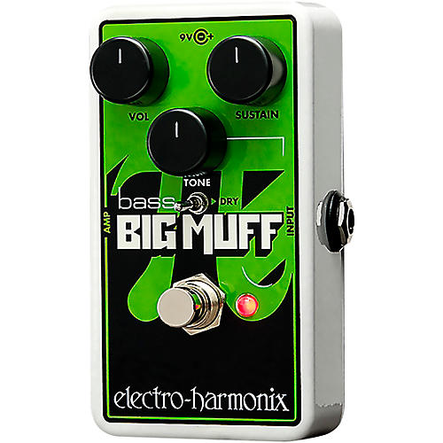 Electro-Harmonix Nano Bass Big Muff Distortion Bass Effects Pedal-thumbnail