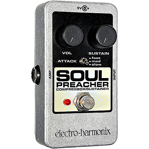 Electro-Harmonix Nano Soul Preacher Compressor / Sustainer Guitar Effects Pedal-thumbnail