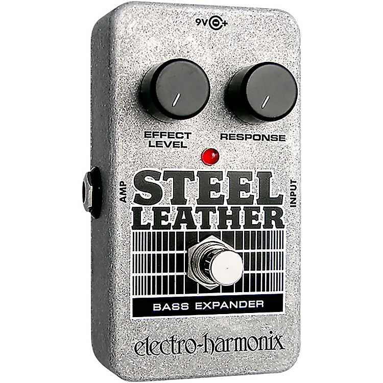 Electro-HarmonixNano Steel Leather Bass Expander Effect Pedal