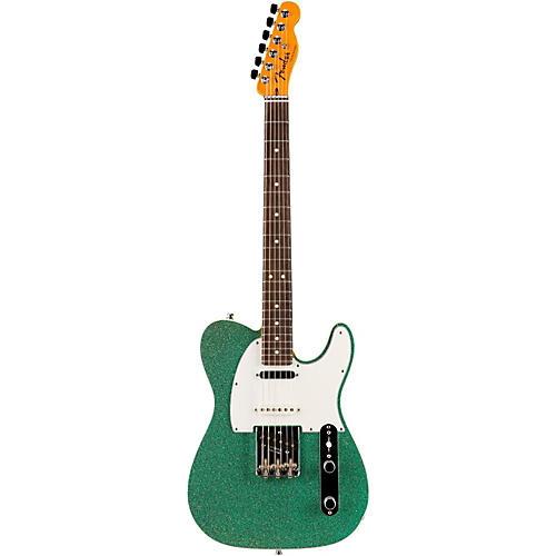 Fender Custom Shop Nashville American Telecaster Electric Guitar Magenta Sparkle Rosewood-thumbnail