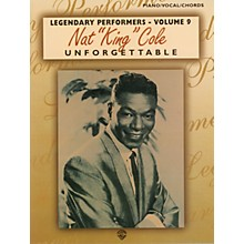 """Alfred Nat """"King"""" Cole Unforgettable Piano/Vocal/Chords Book"""