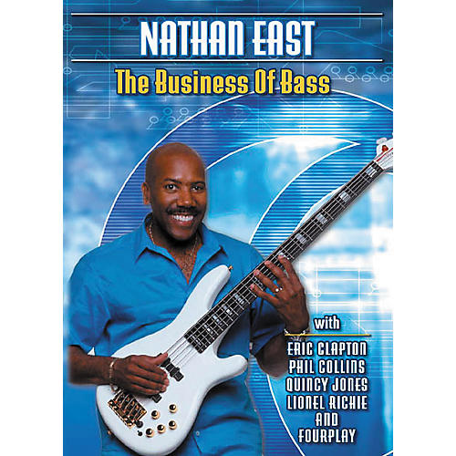 Hal Leonard Nathan East The Business Of Bass (DVD)