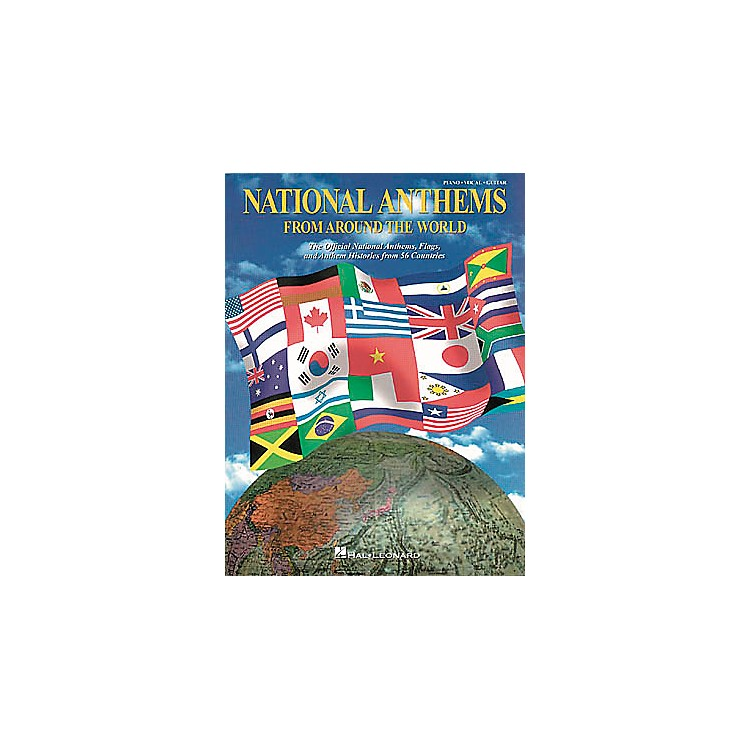 Hal LeonardNational Anthems Piano, Vocal, Guitar Songbook