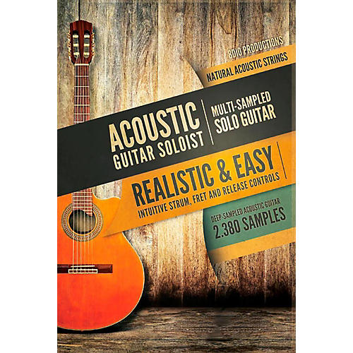 8DIO Productions Natural Acoustic Series: Acoustic Guitar Solo-thumbnail