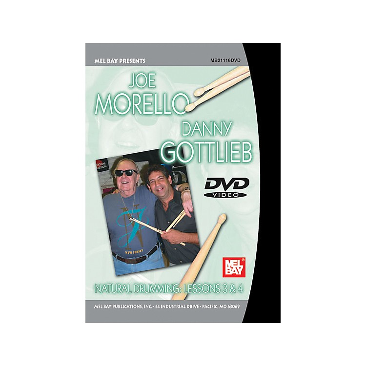 Mel Bay Natural Drumming: Lessons 3 and 4 DVD