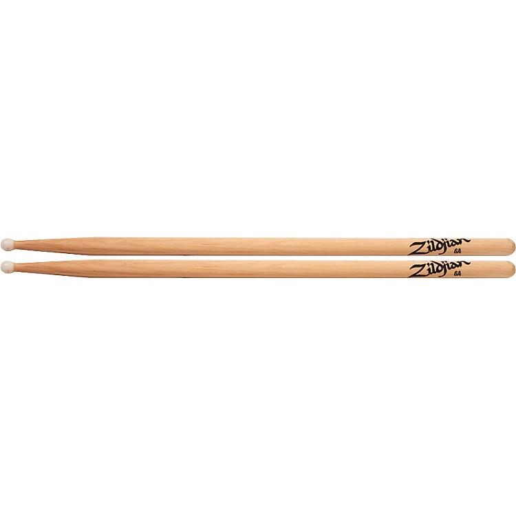 ZildjianNatural Hickory Drumsticks6ANylon
