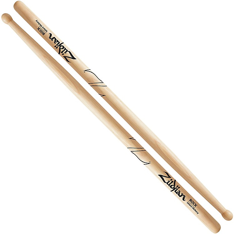 ZildjianNatural Hickory DrumsticksRockWood
