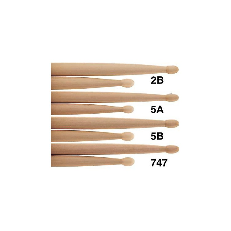 PROMARK Natural Hickory Drumsticks Nylon 747