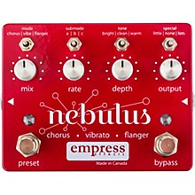 Empress Effects Nebulus Chorus Vibrato Flanger Effects Pedal