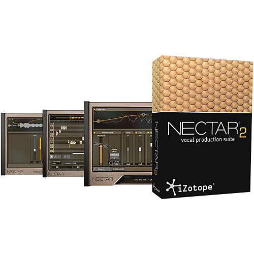 iZotope Nectar 2 Vocal Production Suite-thumbnail