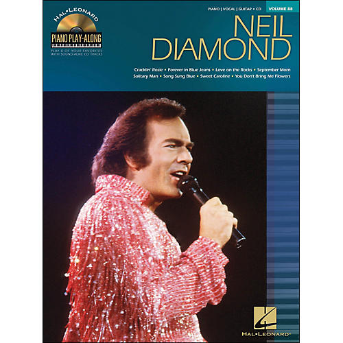 Hal Leonard Neil Diamond - Piano Play-Along Volume 88 (CD/Pkg) arranged for piano, vocal, and guitar (P/V/G)