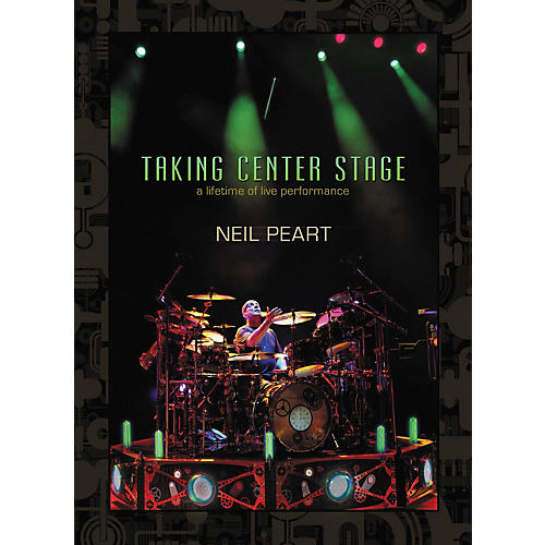 Hudson Music Neil Peart - Taking Center Stage 3-DVD Set Black