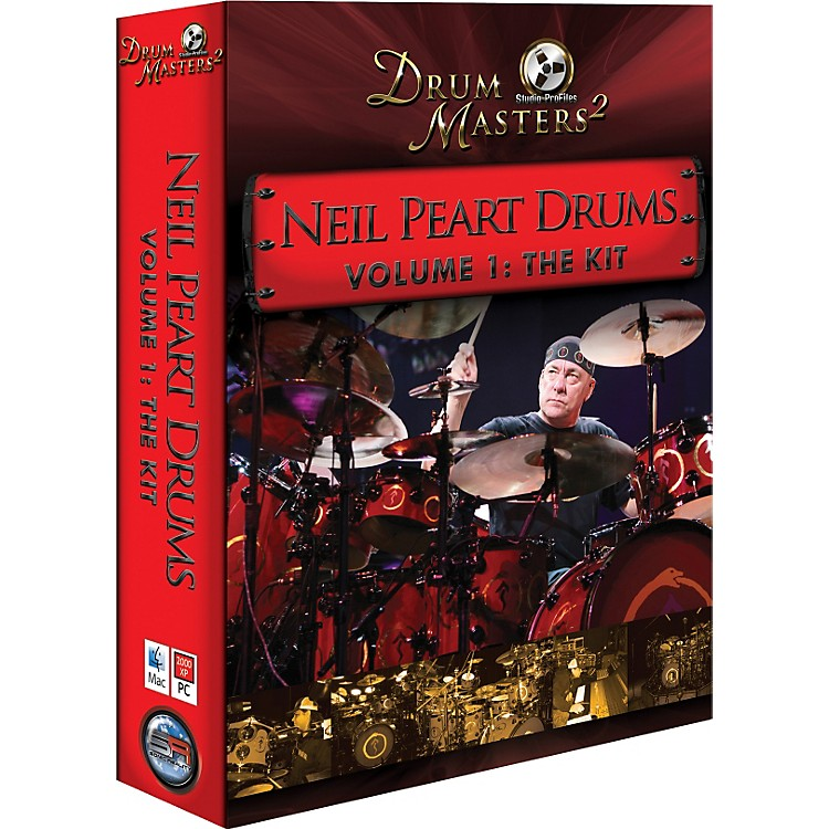 Sonic Reality Neil Peart Drums Volume 1: The Kit (Infinite Player)