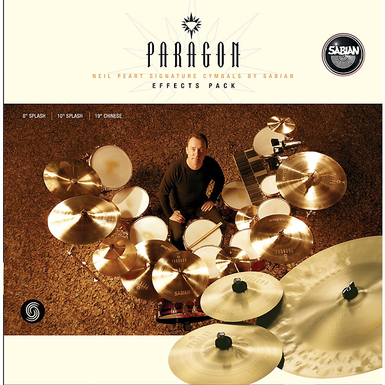 SabianNeil Peart Paragon Effects Cymbal Pack Brilliant