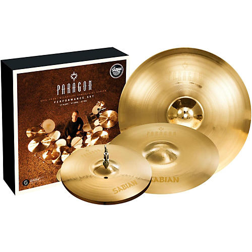Sabian Neil Peart Paragon Performance Cymbal Pack Brilliant