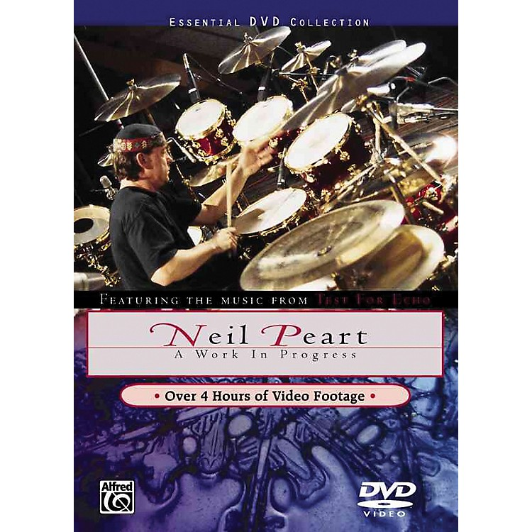 Alfred Neil Peart Work In Progress DVD
