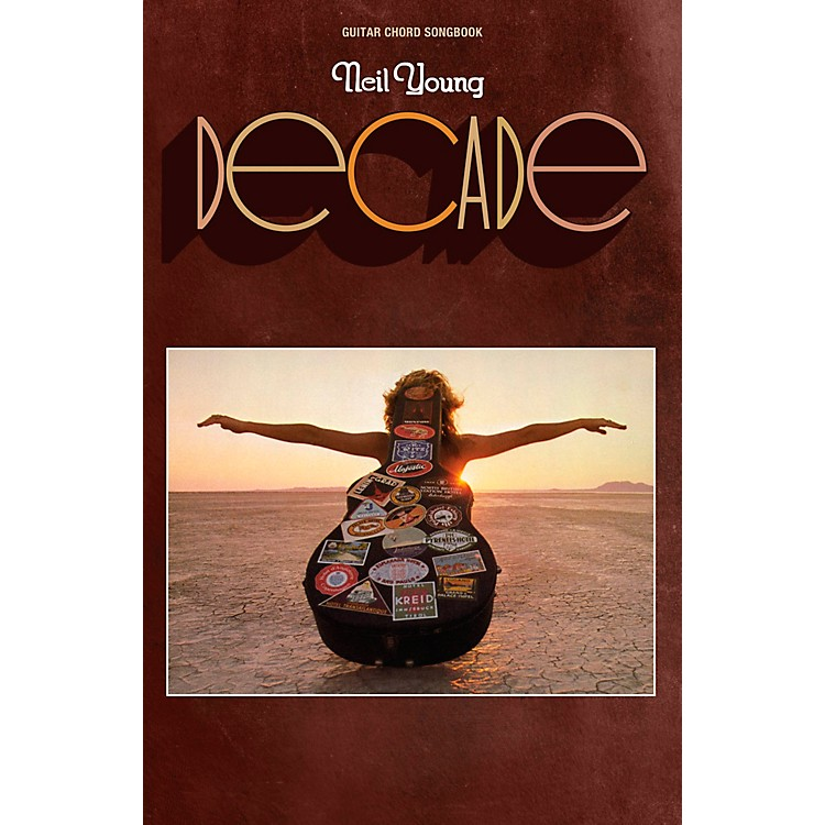 Hal LeonardNeil Young - Decade Guitar Chord Songbook