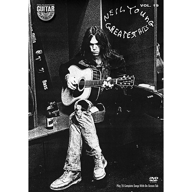 Hal Leonard Neil Young - Guitar Play-Along DVD Volume 19