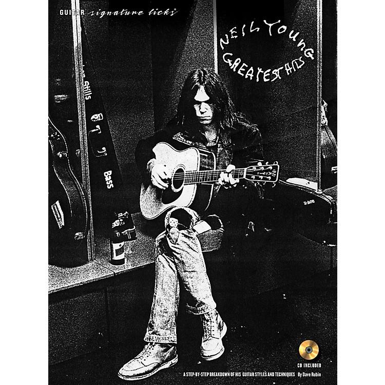 Hal LeonardNeil Young - Guitar Signature Licks Book/CD