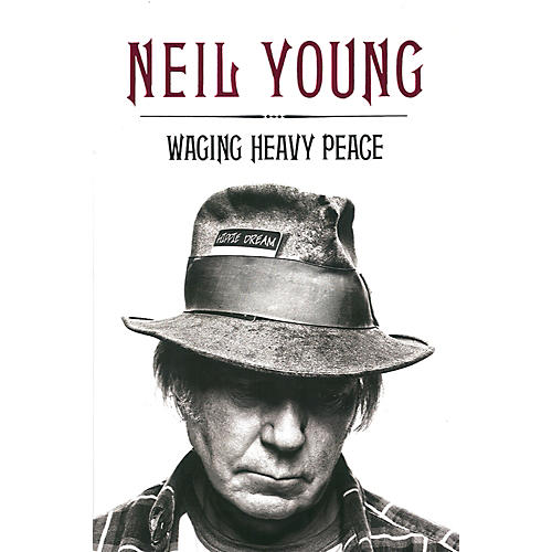 Penguin Books Neil Young - Waging Heavy Peace Hardcover Book