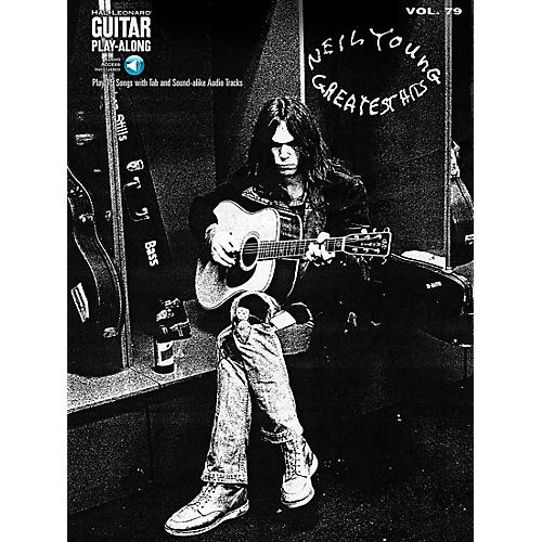 Hal Leonard Neil Young Greatest Hits - Guitar Play-Along Volume 79 Book/CD-thumbnail
