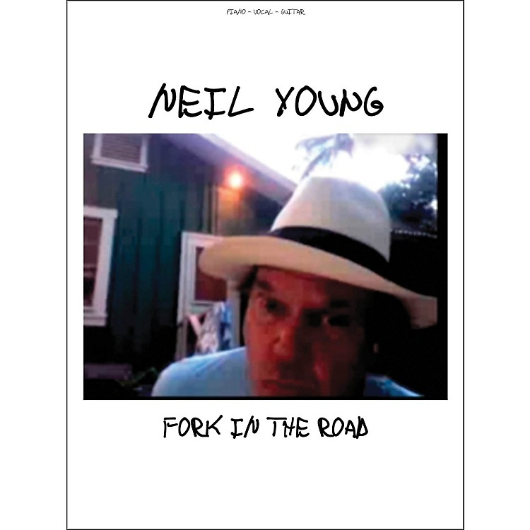 Hal LeonardNeil Young fork In The Road arranged for piano, vocal, and guitar (P/V/G)