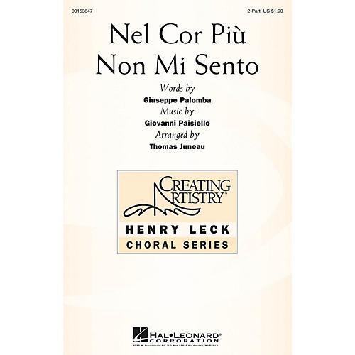Hal Leonard Nel Cor Più Non Mi Sento (from La Molinara) 2PT TREBLE arranged by Thomas Juneau-thumbnail