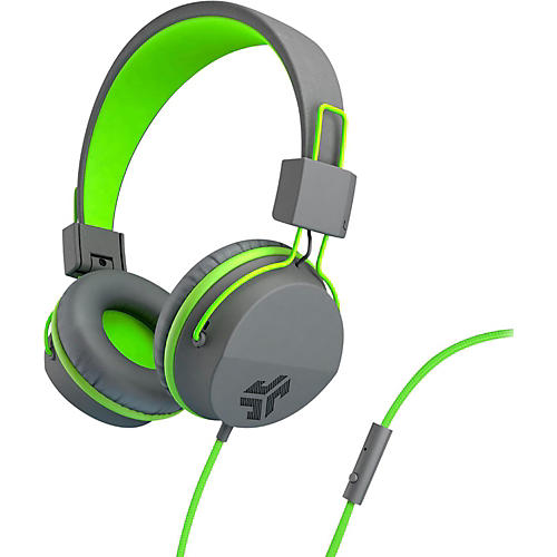 JLab Audio Neon On Ear Headphones  with Universal Mic-thumbnail