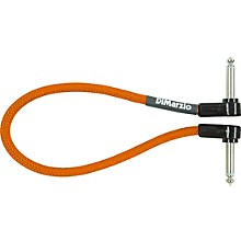 DiMarzio Neon Overbraid Jumper Cable Pedal Coupler Orange 12 in.