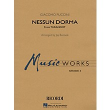 Hal Leonard Nessun Dorma (No One Sleeps) (from Turandot) Concert Band Level 3 Arranged by Jay Bocook