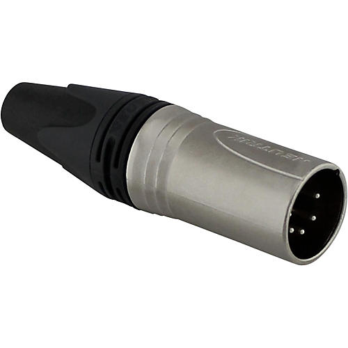 Rapco Neutrik XX-Series XLR 5-Pin Inline Connector Silver Contacts Male