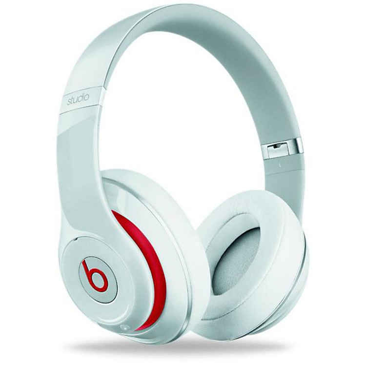 Beats By Dre New Beats Studio Over-Ear Headphone White
