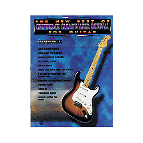 Alfred New Best of Creedence Clearwater Revival for Guitar Book