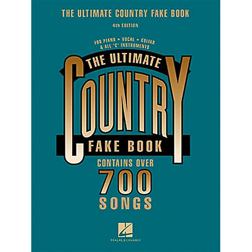 Hal Leonard New Country Fake Book