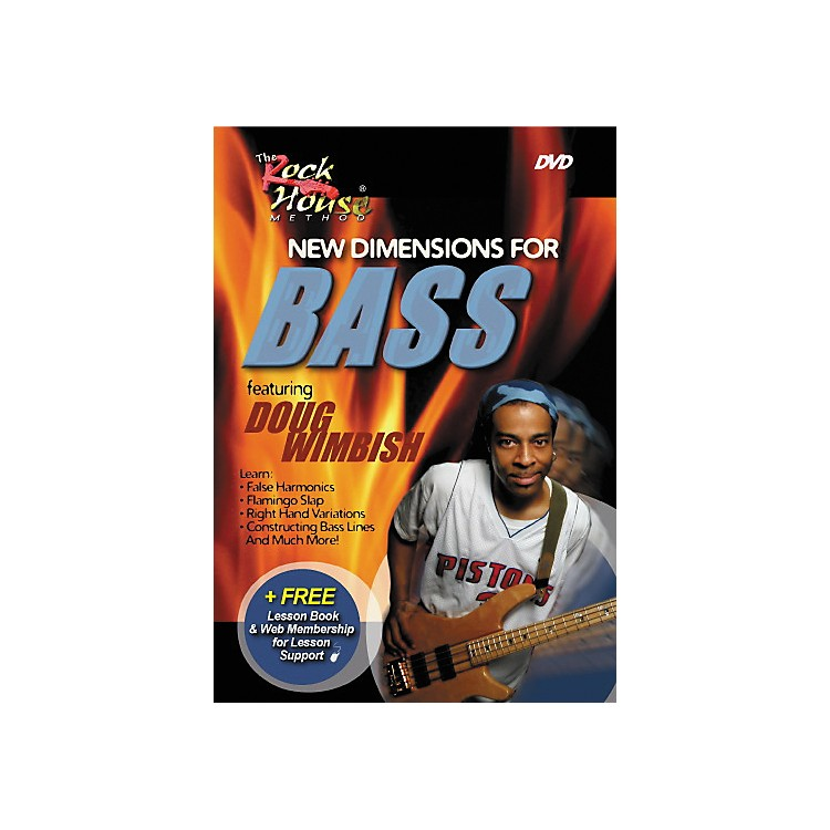 Rock House New Dimensions for Bass Featuring Doug Wimbish (DVD)