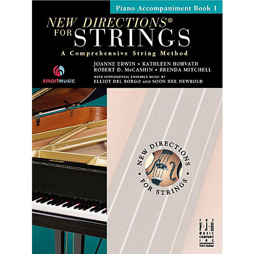 FJH Music New Directions For Strings, Piano Accompaniment Book 1-thumbnail