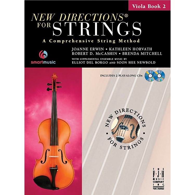FJH Music New Directions For Strings, Viola Book 2