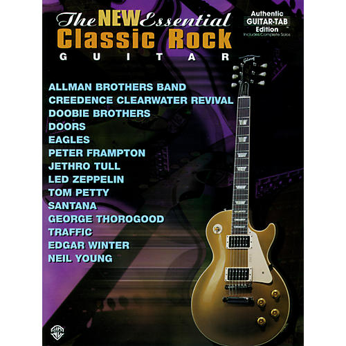 Alfred New Essential Classic Rock Guitar Book