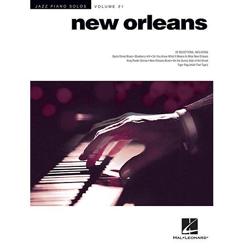 Hal Leonard New Orleans - Jazz Piano Solos Series Vol. 21
