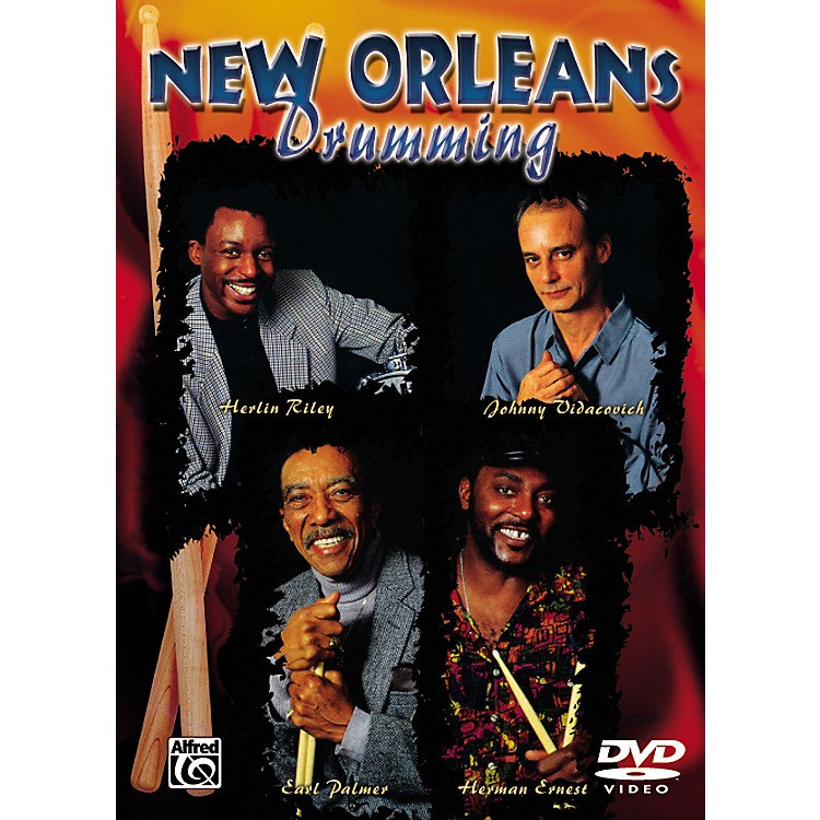 Alfred New Orleans Drumming Series (DVD)