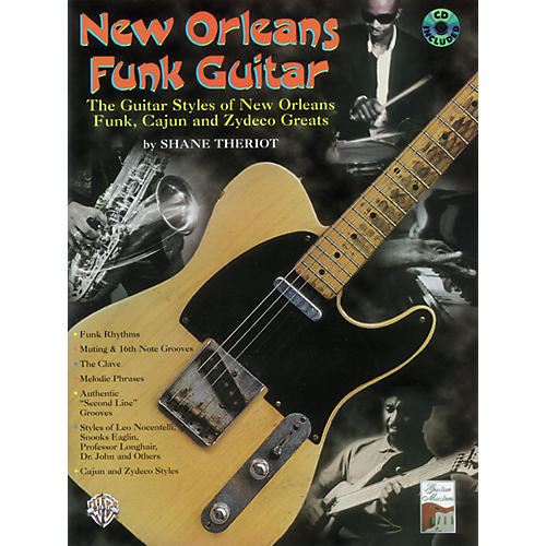 Alfred New Orleans Funk Guitar Book/CD-thumbnail