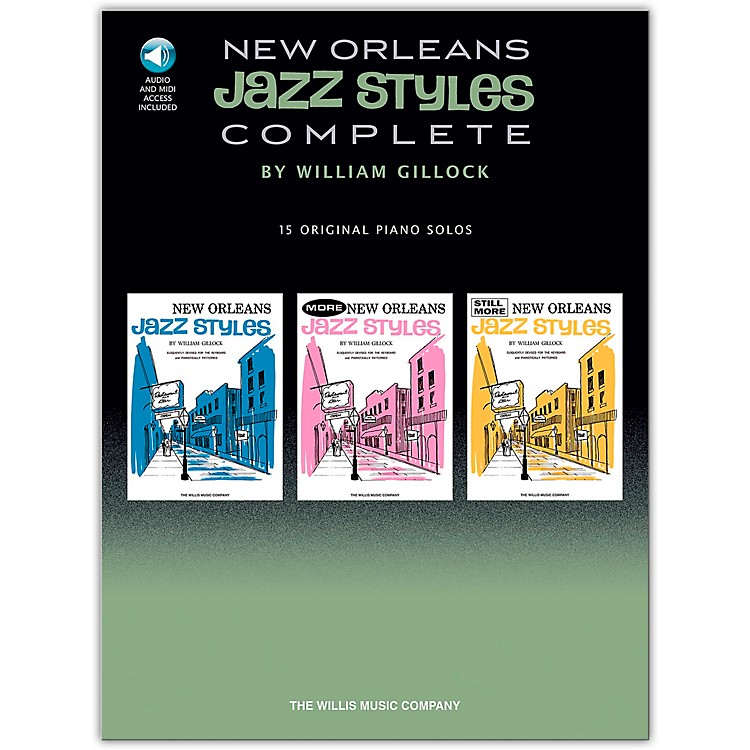 Hal Leonard New Orleans Jazz Styles - Complete  (Book/CD)