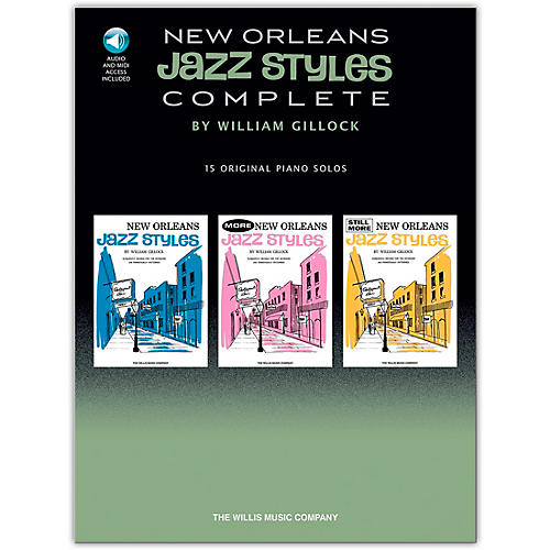 Hal Leonard New Orleans Jazz Styles - Complete (Book/Online Audio)