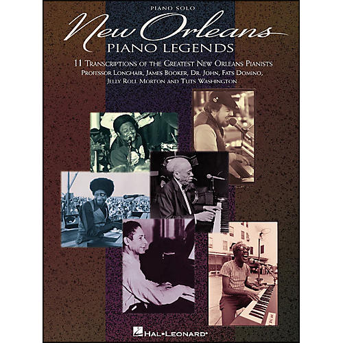 Hal Leonard New Orleans Piano Legends arranged for piano solo