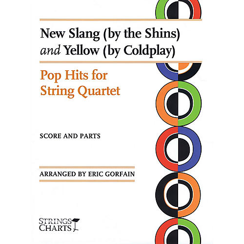 String Letter Publishing New Slang (by The Shins) and Yellow (by Coldplay) String Softcover by Coldplay Arranged by Eric Gorfain-thumbnail