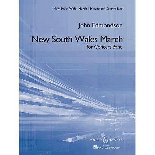 Boosey and Hawkes New South Wales March Concert Band Composed by John Edmondson-thumbnail