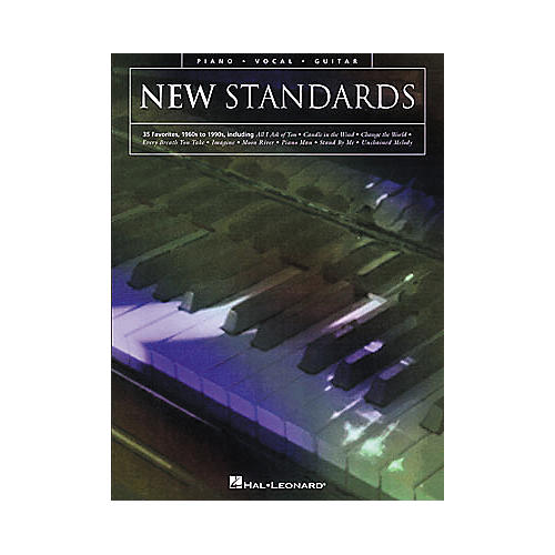 Hal Leonard New Standards Piano, Vocal, Guitar Songbook