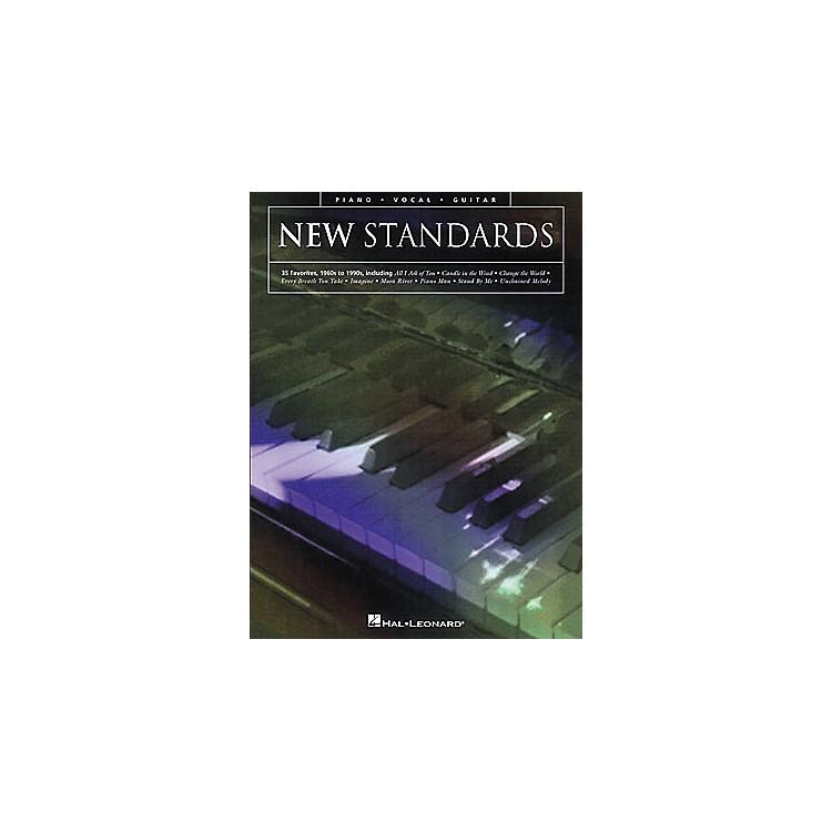 Hal LeonardNew Standards Piano, Vocal, Guitar Songbook
